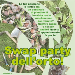 Swap Party dell'orto!